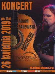 Adam Zalewski akustycznie w Rozmarino