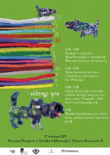 Dzień Wolnej Sztuki i Wolnego Psa w suwalskim Muzeum