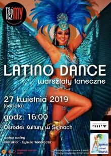 Warsztaty Latino Dance w Sejnach