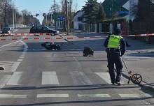 Zderzenie motocykla z BMW na ul. Wojska Polskiego [zdjęcia]