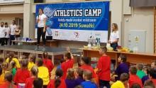 Athletics Camp w Suwałkach. Maria Andrejczyk i przyszli mistrzowie [zdjęcia]