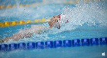 Pływanie. Filip Kosiński tuż za podium EYOF 2019 w Baku, ale z rekordem Polski
