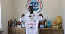 Wigry Suwałki z nowym środkowym obrońcą zagrają sparing ze Stomilem. Abdoulaye Diallo na dwa lata