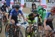 Czterech kolarzy Klubu Rowerowego MTB Suwałki na mistrzostwach Polski. Z zacięciem i pechem [foto]