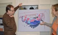 Władysław Niewęgłowski na wystawie w Londynie. Obok Henri Matisse  i Francis Bacon [zdjęcia]