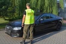 Luksusowe, ale kradzione. Funkcjonariusze Straży Granicznej zatrzymali złodziei aut