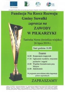 Turówka Nowa. Zawody w piłkarzyki