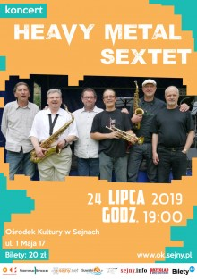 Koncert Heavy Metal Sextet w Sejnach