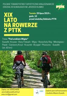 Pod urokiem Wigier. XIX Lato na rowerze z PTTK