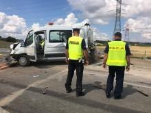 Wypadek na obwodnicy Suwałk. Zginęło dwóch pracowników Budimexu [wideo i zdjęcia]