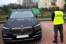 Rosjanin w aucie skradzionym w Luksemburgu. Luksusowe BMW za 400 tysięcy zł