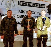 WOT. Suwalczanin Tadeusz Walendykiewicz najlepszym terytorialsem w kraju