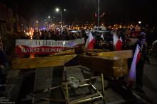 Ulicami Suwałk przeszedł  14. Młodzieżowy Marsz Niepodległości [zdjęcia]