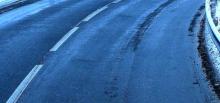 Bardzo ślisko na drogach. W regionie doszło do dwóch dachowań
