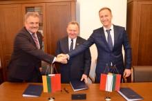 Rail Baltica. Polsko-litewska umowa na szybkie usuwanie skutków zdarzeń na trasie [zdjęcia]
