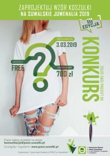 Konkurs na projekt juwenaliowej koszulki PWSZ
