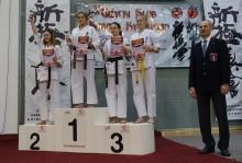 Karate kyokushin. Ośmioro suwalczan pojedzie na Mistrzostwa Europy, aż 50 walczyło w Giżycku [foto]