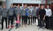 PWSZ i Wigry Suwałki zorganizowały turniej e-sportowy. Mateusz Baranowski przed piłkarzami [foto]