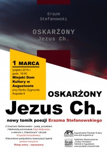Promocja najnowszego tomiku Erazma Stefanowskiego w Augustowie