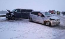 Trudne warunki na drogach. Nie obyło się bez wypadków