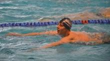 Pływanie. Filip Kosiński udanie startował w Grand Prix Słowenii