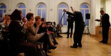 Centrum Sztuki Współczesnej Galeria Andrzeja Strumiłły ma 10 lat. Wystawa, koncert i tort [zdjęcia]