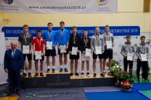 Badminton. SKB Suwałki trzeci na Ogólnopolskiej Olimpiadzie Młodzieży [zdjęcia]