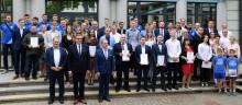 Stypendia dla sportowców, nagrody specjalne dla drużyny Ślepska Malowu Suwałki [zdjęcia]