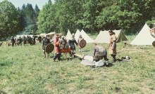 Jaćwingowie wrócili do Szwajcarii. Warsztaty Archeologii Eksperymentalnej 2019 [wideo, zdjęcia]