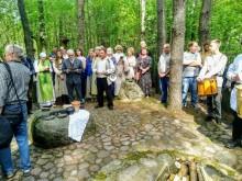 Jotvingiu Jore. Jaćwieskie Święto Powitania Wiosny w Oszkiniach koło Puńska [wideo, zdjęcia]