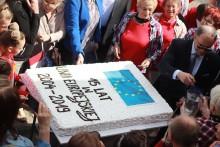 Występy artystyczne, stoiska, urodzinowy tort. Piknik Europejski w Suwałkach [nowe zdjęcia]