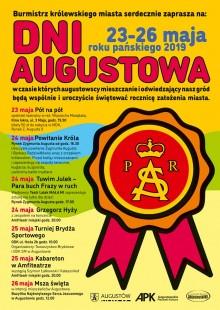 Grzegorz Hyży, kabareton i inne atrakcje. DNI AUGUSTOWA 24-25 maja