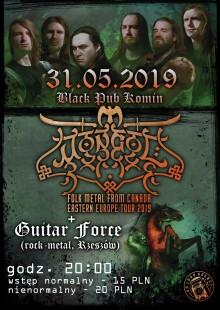 Koncert folk-metalowego zespołu Mongol z Kanady w Kominie
