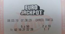 Rośnie kumulacja w Eurojackpot. W Polsce trzy wygrane po 215 tysięcy, a zagramy o 225milionów zł