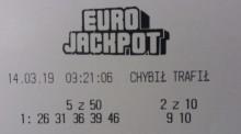 Eurojackpot - kumulacja rozbita. Ponad 227 milionów wygrał ktoś w Szwecji, w Polsce niecały milion