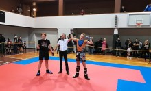 Kickboxing. Świetny występ młodzieży Panzera Suwałki na Litwa Open w Wilnie [zdjęcia]