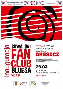 Koncert inaugurujący Suwalski Fan Club Bluesa 2019