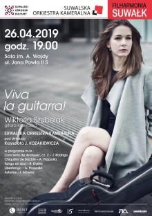 Filharmonia Suwałk. Gorące rytmy, gitara i orkiestra