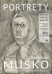 Rysunki Tymoteusza Muśki w Galerii Foyer. Otwarcie wystawy