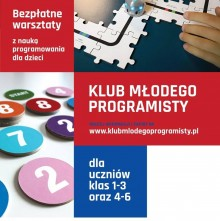 Dołącz do Klubu Młodego Programisty – trwają zapisy na zajęcia!