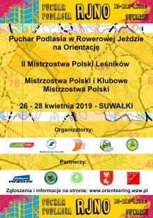 Mistrzostwa Polski w Rowerowej Jeździe na Orientację