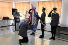 Krzysztof Pawłowski nowym komendantem Policji w Augustowie [zdjęcia]