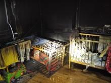 Po pożarze w miejscowości Jemieliste. Rodzina potrzebuje pomocy [zdjęcia]