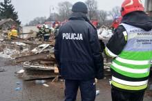 Wybuch w centrum Suwałk. Ściany odrzuciło na kilka metrów [wideo]