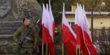 Nabożeństwo, salwa honorowa, przemarsz. Obchody Dnia Pamięci Żołnierzy Wyklętych w Suwałkach [wideo]