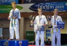 Karate kyokushin. Adrian Bugieda brązowym medalistą mistrzostw Polski [zdjęcia]
