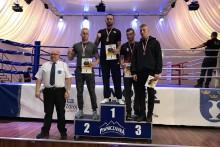 Kickboxing. Sukces strażaków z Panzera Suwałki w mistrzostwach Polski służb mundurowych [zdjęcia]