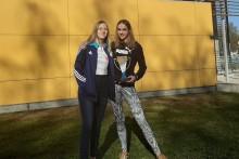 Pływanie w płetwach. Aleksandra Chmielewska w złocie, Gabriela Biszewska w monopłetwie