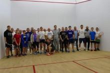 Squash. Kornelia Zielińska, Michał Radulski i Karol Szymański najlepsi w Movement Arena  [zdjęcia]