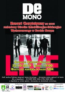 Charytatywny koncert De Mono w Suwałkach